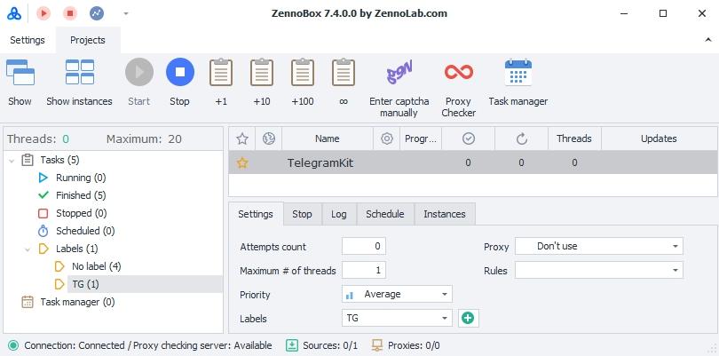 zennobox telegram kit 1